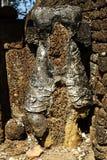 Wat Khao Suwankhiri и старое положение Стоковые Изображения RF