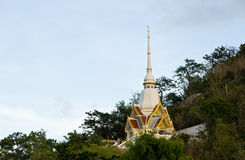 Wat Khao Takiab Buddhist Temple Royalty Free Stock Image
