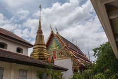 Wat Khao Wang. Is situated on Sattanat Mountain. It is 2 kilometers away from the west side Ratchaburi province Thailand Stock Photography