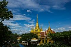 Wat Khiri Wong, επαρχία Ταϊλάνδη Nakhon Sawan Στοκ φωτογραφίες με δικαίωμα ελεύθερης χρήσης