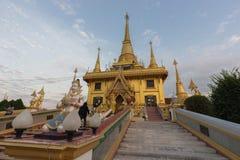 Wat Khiri Wong przy zmierzchem Obraz Stock