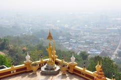 Wat Khiri Wong Temple Arkivbilder