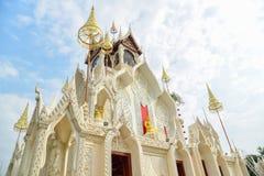 Wat Khoi惊人的建筑学在泰国 免版税库存图片