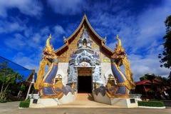 Wat Khrua Khrae temple in Chiang Rai at sunny day Royalty Free Stock Photos