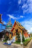 Wat Khrua Khrae temple in Chiang Rai at sunny day Stock Image