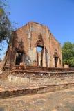 Wat Khudeedao, the ruin of a Buddhist temple in the Ayutthaya hi Stock Photo