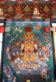 Wat Khuha Sawan-tempel 03 Stock Afbeeldingen