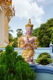 Wat Khun Aram with buddhist statue. Samui, Thailand. Wat Khun Aram with buddhist statue. Koh Samui, Thailand Royalty Free Stock Photography