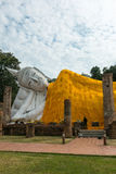 Wat Khun Intha Pramun temple at at Angthong Province, Historical Stock Images