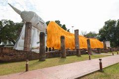 Wat Khun Intha Pramun temple at at Angthong Province, Historical Royalty Free Stock Photos