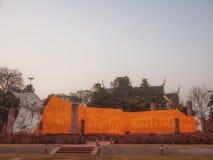 Wat Khun Inthapramun è tempio antico fotografia stock