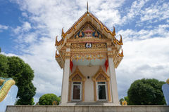 Wat Khunaram Buddhist temple, Samui island. Thailand Royalty Free Stock Image