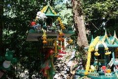 Wat Khunaram at koh samui royalty free stock photography