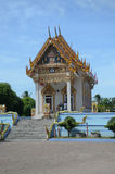 Wat Khunaram temple in Koh Samui Stock Photo