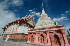 Wat Klang Bang Kaew, Nakhon Pathom, Thailand. Lizenzfreies Stockfoto