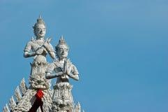 Wat Klang Bang Kaew, Nakhon Pathom, Thailand. Lizenzfreie Stockfotografie