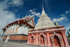Wat Klang Bang Kaew, Nakhon Pathom, Thailand. Royalty Free Stock Photo