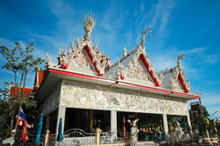 Wat Klang Bang Kaew, Nakhon Pathom, Thailand. Royalty Free Stock Photos