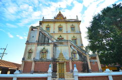 Wat Klang Ming Mueang на Roi Et, Таиланд Стоковые Изображения RF