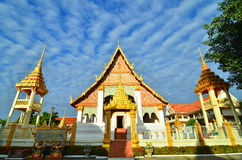 Wat Klang Ming Mueang на Roi Et, Таиланд Стоковые Фотографии RF
