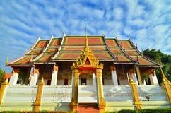 Wat Klang Ming Mueang på Roi Et, Thailand Fotografering för Bildbyråer