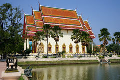 Wat Klang Phra Aram Luang Stock Photo