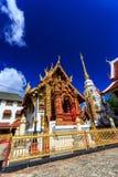 Wat Klang Wiang temple, ChiangRai at sunny day Stock Photos
