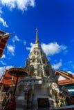 Wat Klang Wiang temple, ChiangRai at sunny day Stock Photo