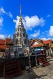 Wat Klang Wiang temple, ChiangRai at sunny day Royalty Free Stock Photo