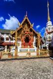 Wat Klang Wiang temple, ChiangRai at sunny day Royalty Free Stock Photos
