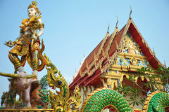 Wat Klong儿子修道院 免版税库存图片