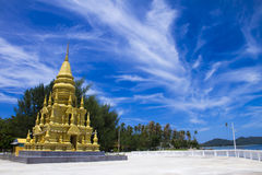 Wat in Koh Samui . Stock Image