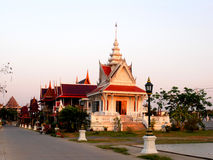 Wat Ku Temple Pakred Nonthaburi Fotos de archivo