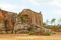 Wat Kudeedao, Ayutthaya Lizenzfreies Stockfoto