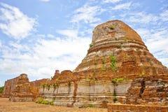 Wat Kudi Dao, Ayutthaya Zdjęcia Stock