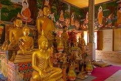 Wat Lamai y Pasillo cultural, Koh Samui, Tailandia Fotografía de archivo