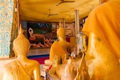 Wat Lamai y Pasillo cultural, Koh Samui, Tailandia Foto de archivo