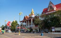 Wat Lamduan, ναός Lamduan σε Nong Khai, Ταϊλάνδη στοκ εικόνα