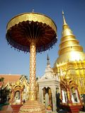 Wat in Lamphun. Wat Prathat Haripunchai Stock Photography