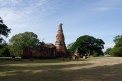 Wat Lankhadam aka il tempio nero del tetto Fotografia Stock