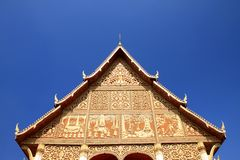 Wat Lao Stock Photo