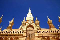 Wat Lao Stock Photo