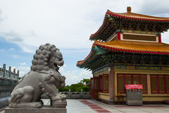 Wat Leng NEI yi NONTHABURI, ΤΑΪΛΆΝΔΗ Στοκ Φωτογραφία