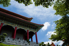 Wat Leng Nei YI NONTHABURI, THAÏLANDE Photo libre de droits