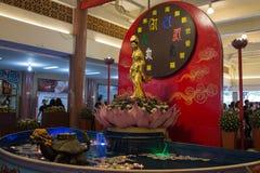 Wat Leng-noei-YI 2, le plus grand temple bouddhiste chinois dans Thail Photos libres de droits