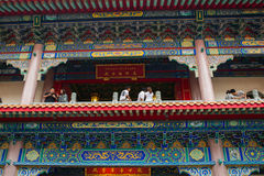 Wat Leng-noei-YI 2, le plus grand temple bouddhiste chinois dans Thail Photo stock