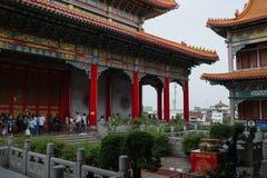 Wat Leng-noei-YI 2, le plus grand temple bouddhiste chinois dans Thail Images stock