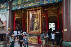 Wat Leng-noei-YI 2, le plus grand temple bouddhiste chinois dans Thail Image libre de droits