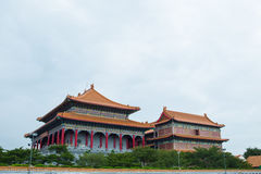 Wat Leng-noei-YI 2, le plus grand temple bouddhiste chinois dans Thail Photos stock