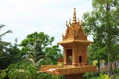 Wat Leu. Amazing view of Wat Leu in Sihanoukville, Cambodia Stock Image